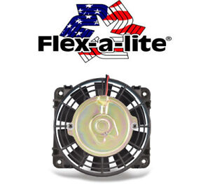 Flexalite 108 Compact Auxiliary Electric Fan 10 Reversible 800 Cfm Atv Utv