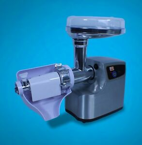 New Deluxe Stainless Steel Electric Meat Grinder Sausage Stuffer Mt199 3000w