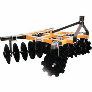 King Kutter Box Frame Disc Harrow 5 1 2ft Wide 18 16 g nbf yk
