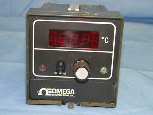 Omega Cn5002j1 Digital Control Thermometer Celsius Type j Thermocouple