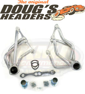 Doug s Headers D358 1958 1964 Chevy Bel Air Impala El Camino Sbc Ceramic Headers