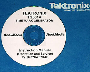Tek Tg501a Time Mark Generator Operating service Manual