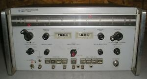 Vintage Hp Hewlett Packard 693d Sweep Oscillator