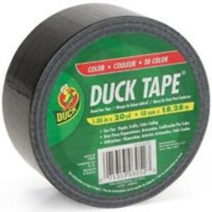 Shurtech Brands 392875 High Performance Duct Tape 1 88 x20 Yd Black