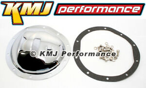 Gmc Chevy Truck 8 5 Chrome Steel Front Differential Cover 10 Bolt Gasket Bolts