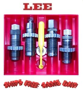 90447 Lee Precision * Deluxe Carbide 4 Die Set for 380 Auto *  90447  New!