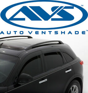 Avs 896001 Low Profile Window Ventvisor 6 Piece Smoke For 03 08 Infiniti Fx35
