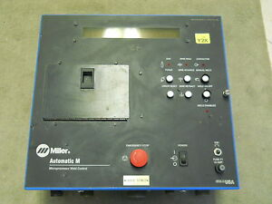 Miller Electric 043268 Microprocessor Weld Control Unit 115v 3 6a Used