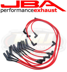 Jba W0950 1994 1998 Dodge Ram Truck V10 Red 8mm Spark Plug Wires Powercables
