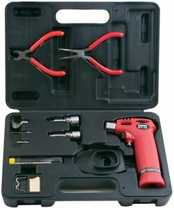 Master Appliance Trigger Torch Kit With Soldering Hot Air Knife Tips mt76k