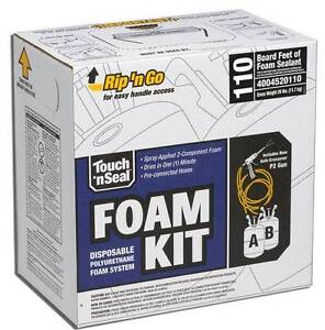 Touch N Seal U2 110 Spray Closed Cell Foam Insulation Kit 110 Bf 4004520110