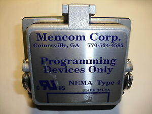 Mencom Corp Programming Devices Only Nema Type 4