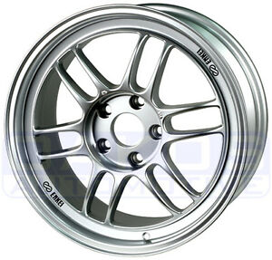 Enkei Rpf1 Wheel 18x9 5 5x114 3 38mm Silver Rim 379 895 6538sp