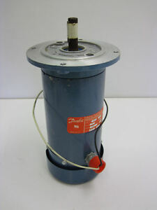 Danfoss Electronics Permanent Magnetic Dc Motor 3 4 Hp 1800 Rpm 04201
