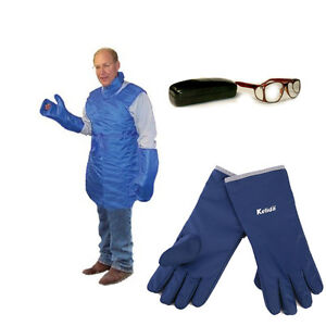 X ray Radiation Protection Apparel Bundle lead Apron collar glasses flex Gloves