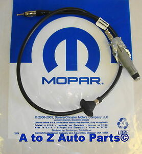 New 2002 2008 Dodge Ram 1500 3500 Radio Antenna Cable Body Assembley Oem Mopar