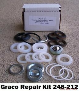 Aftermarket Pump Repair Kit For Graco Airless Paint Sprayer 248212 248 212
