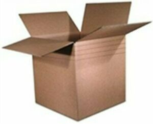 25 10x10x10 Multi Depth Corrugated Boxes Shipping Packing Moving Cartons