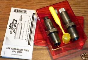 Lee Pacesetter 2 Die Set for 270 Win Short Magnum (WSM)    # 90572   New!