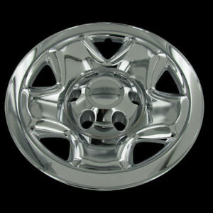For 2005 15 Toyota Tacoma 4 16 Chrome Wheel Skin Hubcaps Covers