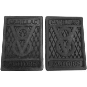 1927 1940 Cadillac V8 Pair Of Clutch And Brake Pedal Pads