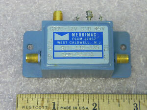 Merrimac Sem 11d 125 Sma Rf Solid state Spst 50 250mhz Switch