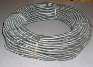 New Universal Metal Hose Co U 10e 250 Feet 1 4 Extraflex Galvanized Metal Hose