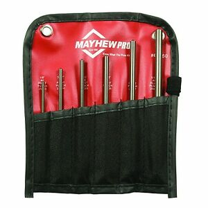 Mayhew 62250 6 Piece Pilot Punch Kit