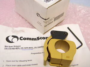 New Commscope Cr 1070 mss Mid Span Stripping Tool 7 8 Cable 1070 mss
