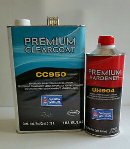 Sherwin Williams Cc950 Appearance Plus Clearcoat Ultra 7000 Auto Car Paint