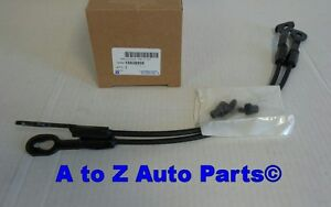 New 1994 2004 Chevy S10 Or Gmc Sonoma Tailgate Cables Set Of 2 Oem Gm