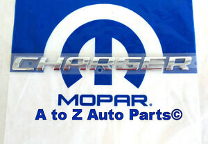 New 2006 2014 Dodge Charger 3d Chrome Nameplate Oem Mopar