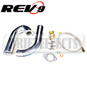 Rev9 16g 20g Turbo J Pipe Kit For 95 99 Mitsubishi Eclipse Gst Gsx Talon Tsi