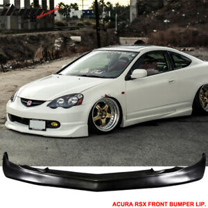 Fits 02 04 Acura Rsx Dc5 Coupe Mugen Style Front Bumper Lip Spoiler Pu