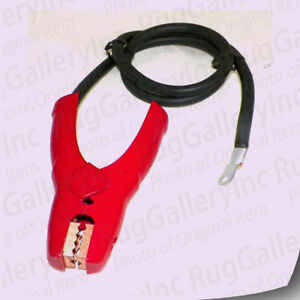 Car Battery Clamps Clip Red 40 Cable 6awg Ring For Charger Jump Starter