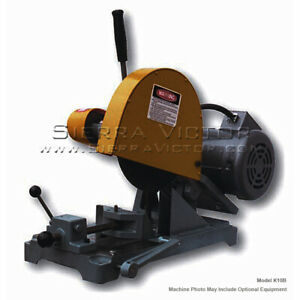 Kalamazoo Bench Abrasive Cut off Saw With Chain Vise K10sf