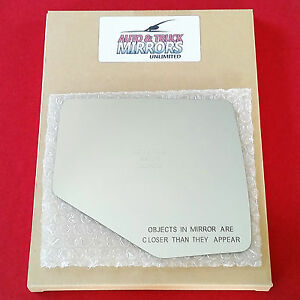 New Mirror Glass For Ford Mercury Mazda Passenger Right Side Fast Shipping