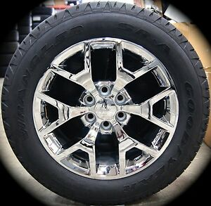New 2015 Chevy Silverado Suburban Tahoe Avalanche Chrome 20 Wheels Rims Tires