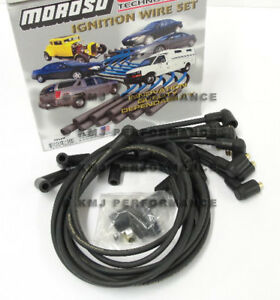 Moroso 9860m Sbc Chevy 307 327 350 Spark Plug Wires Socket Delco Points Style