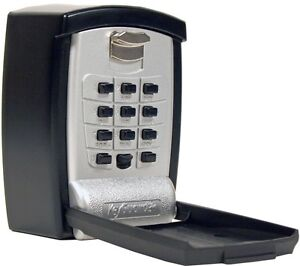 Wall Mount Key Storage Lock Box Push Button Lockbox Seniors Medical Emergency