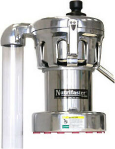 Nutrifaster 450 Commercial Centrifugal Juicer Nf450 Silver