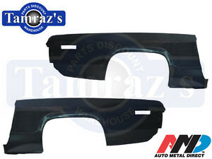 71 Road Runner Gtx Satellite Rear Quarter Panel Skin Amd Pair Lh