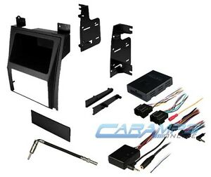 Escalade Car Stereo Radio Dash Kit With Bose Onstar Interface Wiring And Swc