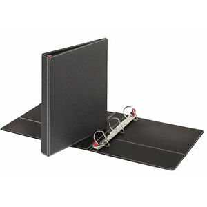 Cardinal 1 5 Inch Black Slant d 3 ring Prestige Binders Pack Of 12