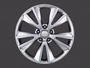 11 16 Jeep Grand Cherokee New 20 Bright Chrome Wheel Mopar Factory Oem