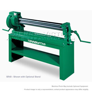 Tennsmith Manual Slip Roll With Third Roll Drive Sr48
