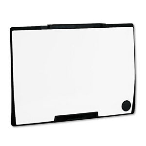 Quartet Motion Portable Dry Erase Board 36 X 24 White Black Frame
