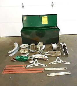 Rx 355 Greenlee Pipe Bender Lot W Extras