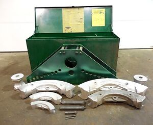 Rx 356 Greenlee 884 5 Portable Hydraulic Bender W Shoes Box And Extras