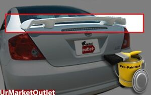 Abs Pre Painted Plastic Race Gt Style Rear Truck Spoiler Wing For Scion 05 09 Tc
